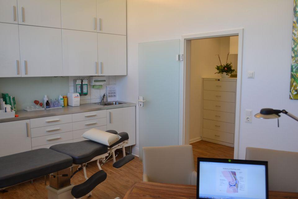 Hijama-Behandlungsraum